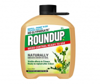 Roundup Natural Weed Control Pump Go Refill 5ltr
